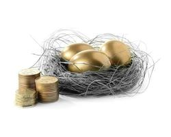 goldenes Eiernest ii foto