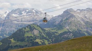 Skilift Kabelkabine oder Auto foto