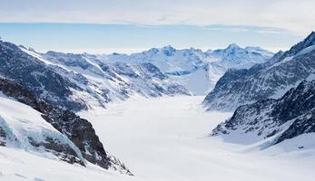 Schweizer Berg, Jungfrau, Schweiz, Skigebiet