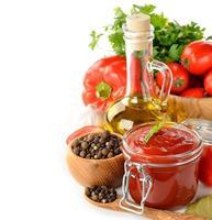 Tomaten-Ketchup foto