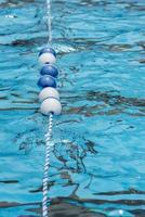 Schwimmleine für Schwimmbäder