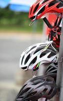 Fahrradhelm foto