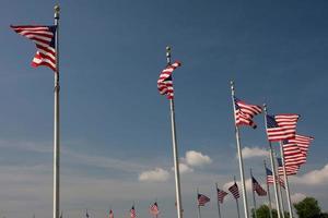 USA - Bezirk Kolumbien, Washington, Washington Monument foto