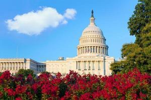 Kapitol Gebäude Washington DC uns Kongress foto