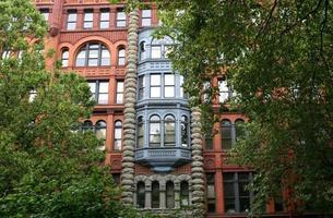 Pioniergebäude in Seattle foto