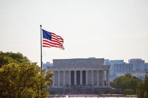 Abraham Lincoln Memorial Gebäude Washington DC