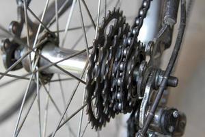 Fahrradkettenrad foto