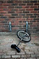 Einradparkplatz foto