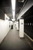 New Yorker U-Bahn foto