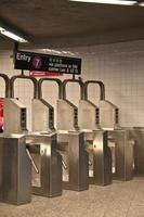 USA - New York - New York, U-Bahn foto
