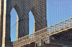 Brooklyn Bridge in New York City foto