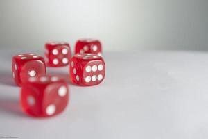 Poker Wallpaper - Würfel foto