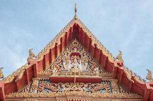Tempel in Bangkok, Thailand. foto