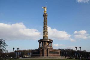 Siegessäule Berlin Deutschland foto