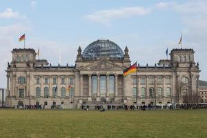 deutscher Bundestag in Berlin foto