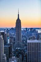 Empire State und Midtown foto