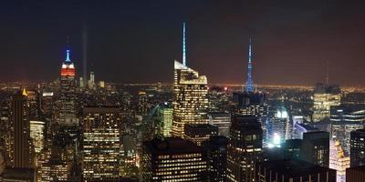 New York City Nacht foto