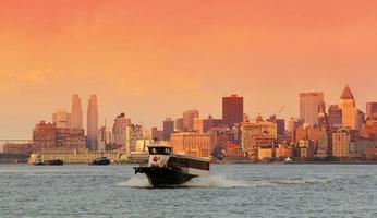 Innenstadt von Manhattan Skyline foto