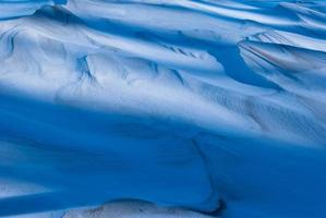 Schneeformationen foto