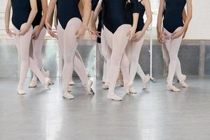 Ballerinas tanzen foto