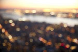 Bokeh beleuchtet Hintergrund foto