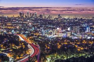 Innenstadt von Los Angeles foto