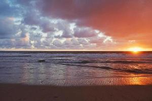 stürmische Santa Monica foto