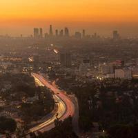 Innenstadt von Los Angeles Skyline