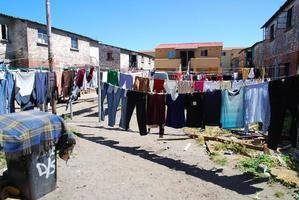 Wäsche in Langa foto