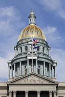 Staatshauptstadt von Colorado foto