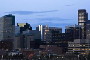in Denver dunkel werden foto