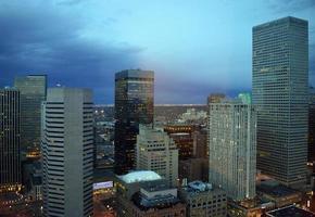Denver in der Nacht