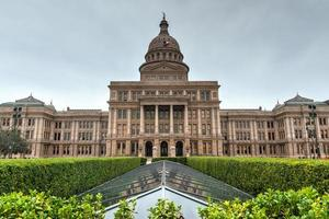 das Texas State Capitol Gebäude foto