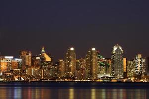San Diego Innenstadt Nacht Szene
