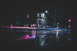 Zuckerwatte Lichtspuren foto