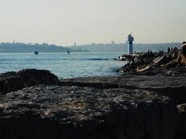 Blick auf den Leuchtturm, Istanbul
