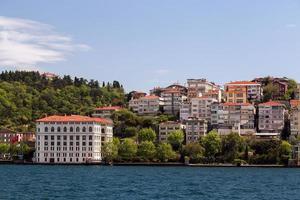 Istanbul Bosporus, Truthahn. foto