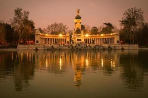 Retiro, Madrid, Spanien