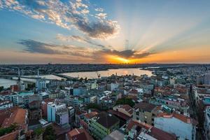 Istanbul Sonnenuntergang foto