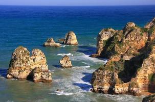 ponta de piedade in Lagos, Algarve, Portugal