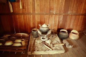 alte Nordküchenutensilienmode in tha foto