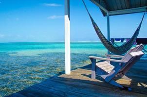 Meditation und Entspannung am Pier