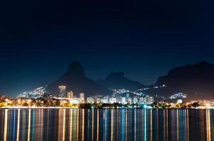Rio de Janeiro in der Nacht