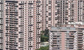 Mehrfamilienhäuser in Rio de Janeiro, Brasilien. foto