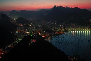 Rio in der Nacht foto