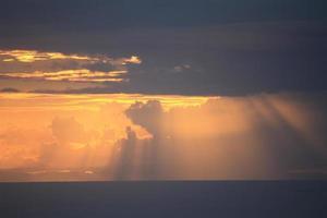 Sonnenuntergang Himmel foto