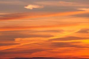 dramatischer Sonnenuntergang
