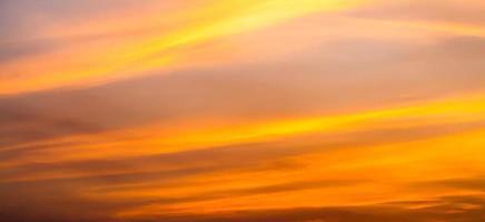 nach Sonnenuntergang Himmel. foto