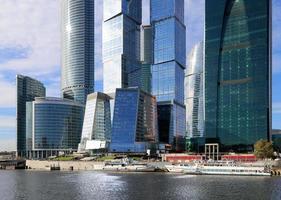 Wolkenkratzer des internationalen Geschäftszentrums (Stadt), Moskau, Russland