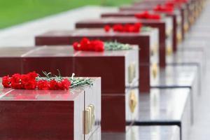 Denkmal für das Grab eines unbekannten Soldaten im Alexandergarten foto